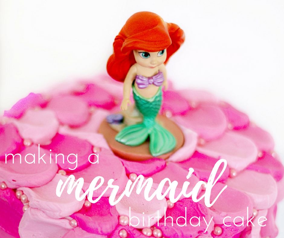 Birthday Cake Images For Email : Making a Birthday Cake for a Mermaid Birthday Party