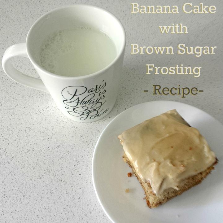 Banana Cake Icing Without Icing Sugar